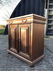 Vintage Mahogany French Repro Chiffonier Sideboard Server Cupboard Kitchen Unit