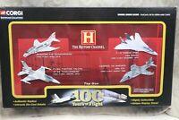 Corgi Showcase Collection Top Gun; F-14 - Harrier - F-16 New open box