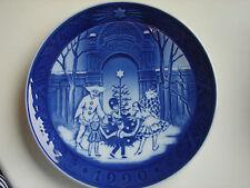 Weihnachtsteller, Royal Copenhagen, 1990, 18cm