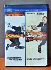 Transporter, Transporter 2    Double Feature DVD    LIKE NEW