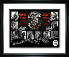 New Sons Of Anarchy Signed Framed Memorabilia