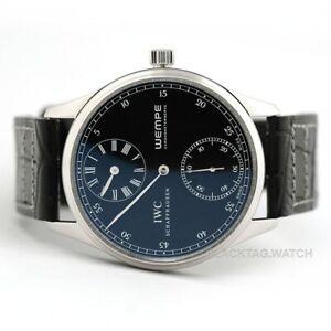IWC Portugieser Regulateur Wempe Hand Wound Wristwatch IW544302 Platinum Limited