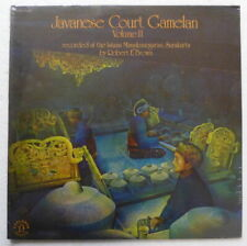 Javanese Court Gamelan, Vol. 2 Nonesuch Explorer Series 1977 Sealed #2561