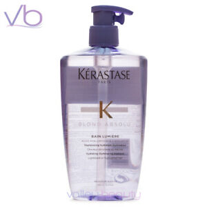KERASTASE Blond Absolu Bain Lumiere with Pump, 500ml Shampoo For Blondes