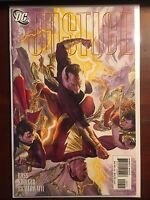 Justice issue #9 NM 1st Print DC Jim Krueger Alex Ross Black Adam Cover