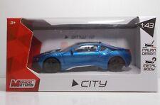 "MondoMotors 53195 BMW 18 ""Blue"" - METAL Scala 1:43"