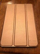 For iPad mini 4 / 3 / 2 / 1 Slimshell Case Translucent Frosted Back Stand Cover