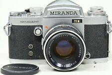 Miranda Sensomat RE camera with 50mm f1.8 Auto Miranda