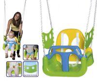 3in1 Kinderschaukel Kleinkinder Kippschutz höhen-verstellbar,stabil Happy People