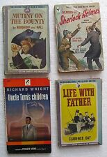 "(4) 1940's Paperback Books including ""Uncle Tom's Children"" by Richard Wright"