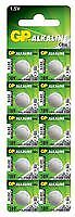 BUTTON CELL ALK 189 1.5V PK10 Batteries Non-rechargeable - CM88677