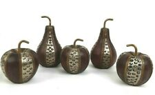 Wood and Metal Apples & Pears - Decorative Home Decor Art