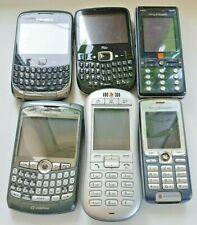 6x Working Mobile Phone Bundle/Joblot, Sony, Blackberry, Free UK delivery