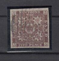CN7348/ CANADA – NEWFOUNDLAND – SG # 19 USED – CV 450 $