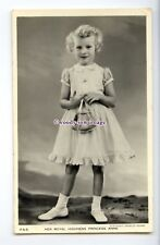r2700 - Young Princess Anne in Summer Frock poses holding her Purse - postcard