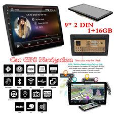 """Android 9.1 9"""" 2 DIN Coche Bluetooth Navegación GPS Radio estéreo Reproductor de audio USB"""