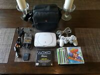 Playstation 1 PS1 Console Bundle - Carrying Case, Cords, Controller, Games PS 1