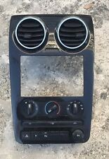 2008-2009 FORD TAURUS X RADIO DASH BEZEL TRIM W/HEAT CONTROL & SWITCH SEE PHOTO