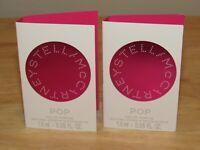 x 2 Stella McCartney Pop EDP Parfum .1 Oz Total Womens Spray Fragrance