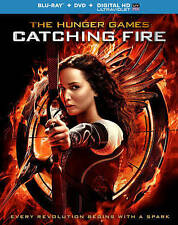 The Hunger Games: Catching Fire (Blu-ray Disc, DVD, Digital HD Ultra) Brand New!