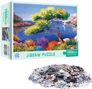 Jigsaw Puzzle 1000 Piece 27.5in X 19.5in BRAND NEW - Beautiful Lakeside Scenery