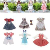 Poupée vêtements robe à la main couture fête jupe pour 30-36cm poupées et 1