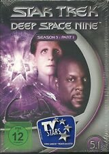 Star Trek Deep Space Nine Season 5.1 Neu OVP Sealed Deutsche Ausgabe 3 DVD`s