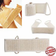 Natural Exfoliating Loofah Loofa Back Strap Bath Shower Body Sponge Scrubber UK