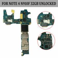 For Samsung Galaxy Note 4 N910F Motherboard Main Board Logic Board 32GB Unlocked