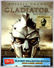GLADIATOR HDZETA FULL-SLIP 2-DISC BLU-RAY STEELBOOK NEU & OVP SEALED SOLD OUT
