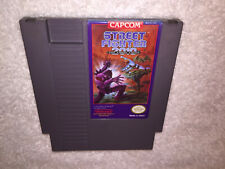 Street Fighter 2010: The Final Fight (Nintendo, 1990) NES Game Cartridge Vr Nice