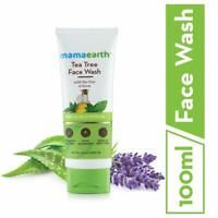 Mamaearth Tea Tree Natural Face Wash for Acne & Pimples Wash 100 ml