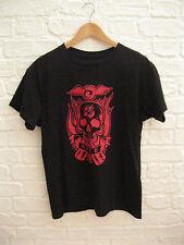 8a90671de964 Men s Genuine VON DUTCH Flying Eyeball Black   Red S S Crew T-Shirt