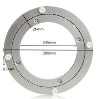 Drehlager Druckkugellager Drehteller Drehschemel Aluminium Flanschlager 200mm