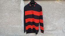 Givenchy Rayas Camisa Polo De Gran Tamaño Estrella Bordado ROTTWEILER Talla M (L/XL)