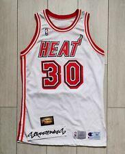 NBA Jersey Game Worn Used Harmon Miami Heat