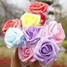 FD1017 Creative Stationery Candy Rose Flower Flora Ballpoint Pen ~Random~ 1pc:)