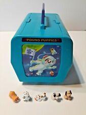 VINTAGEMINI POUND PUPPIES SPACE PLAYSET W/5 ANIMALS! COMPLETE! EUC!