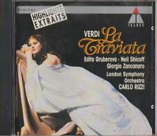 C.D.MUSIC  D686  VERDI : LA TRAVIATA - HIGHLIGHTS . RIZZI     CD