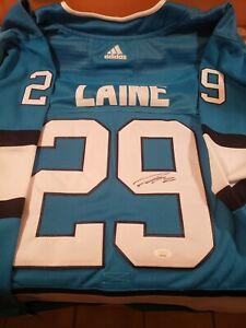 Patrick Laine Autographed Winnipeg Jets Jersey