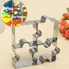 Stainless Steel Cake Mold Puzzle Piece Pastry Cookie Cutter Fondant Baking Tool