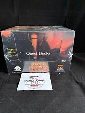 TOMB RAIDER CCG SEALED BOX OF 10 QUEST DECKS Box Wear