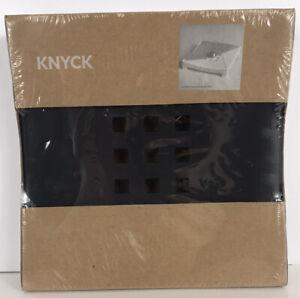 IKEA KNYCK Black Napkin Holder