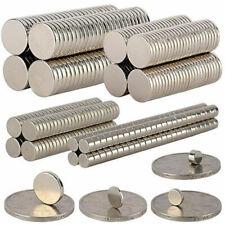 1-500pcs N35/N52 Neodymium Magnets Round Disc Ring Shape Magnet Lots