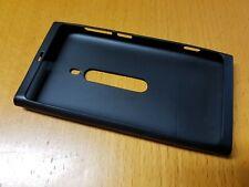 Original Silikon Schutzhülle Case Tasche - Nokia Lumia 800 - Schwarz - NEU