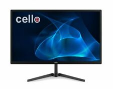 "CELLO 22"" inch LED MONITOR FULL HD SPEAKERS HDMI VGA 250 CD/M2 LOW BLUE LIGHT"