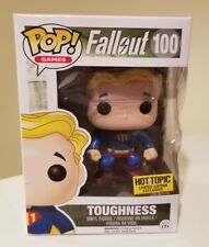 Funko Pop! Fallout Vault Boy Toughness #100 Hot Topic Exclusive