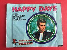 HAPPY DAYS - BUSTINA PIENA SIGILLATA DI FIGURINE  ED. PANINI RARA