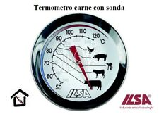 ILSA TERMOMETRO CARNE CON SONDA SENSIBILITA' 54-88°C -  130-190° F