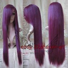Wigs,Akame ga Kill! Sheele,violet long raide animation Cosplay fête cheveux